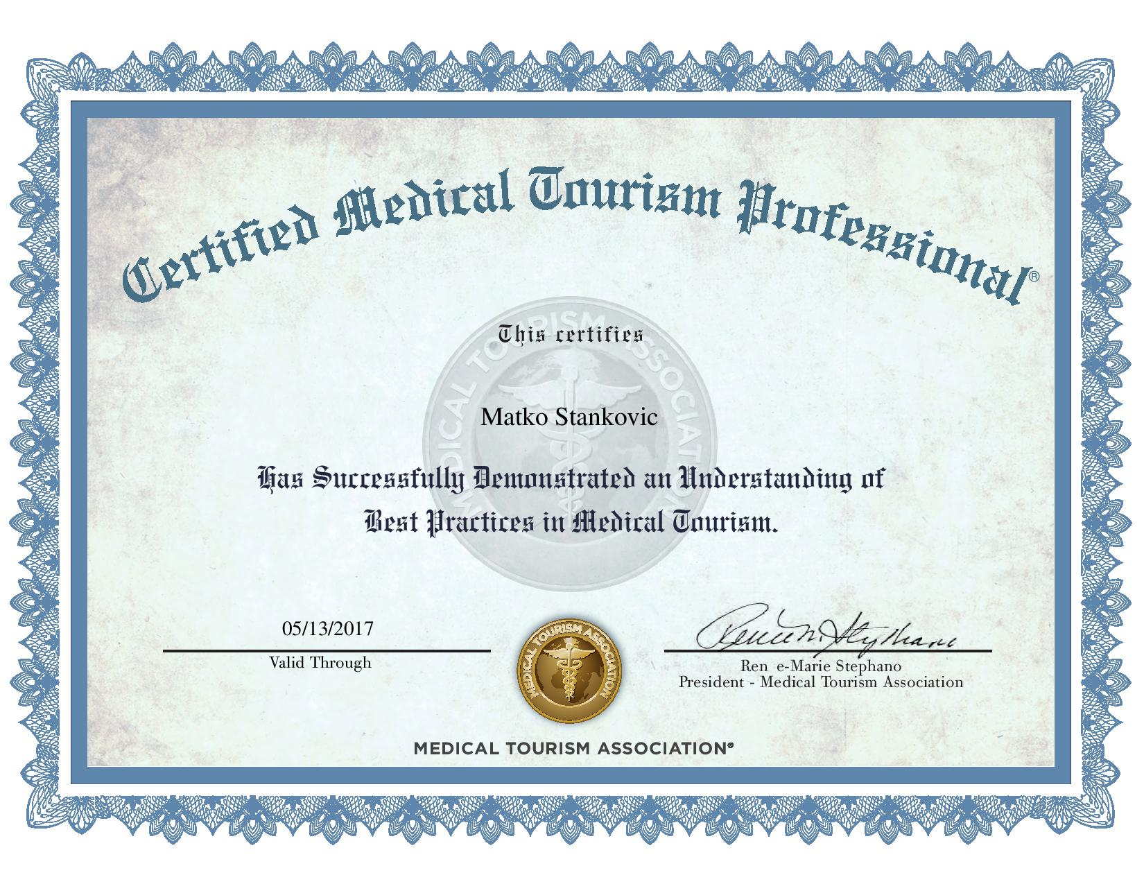 Medical tourism master thesis
